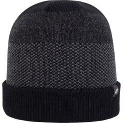 Czapka męska CAM201Z - czarny - 4F. Czarne czapki męskie 4f, na jesień, z materiału. Za 19,99 zł.
