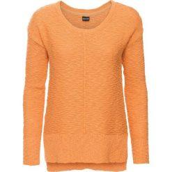 Swetry damskie: Letni sweter bonprix morelowy
