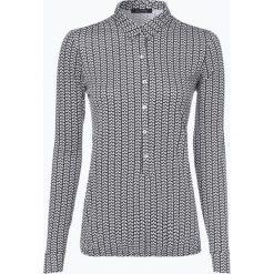 Marc O'Polo - Damska koszulka z długim rękawem, niebieski. Niebieskie t-shirty damskie Marc O'Polo, m, z dżerseju, z wykładanym kołnierzem. Za 309,95 zł.