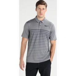 Koszulki sportowe męskie: Nike Golf DRY STRIPE Koszulka sportowa dark grey/black/black
