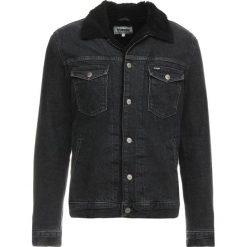 Wrangler SHERPA JACKET Kurtka jeansowa midnight stone. Niebieskie kurtki męskie jeansowe marki Reserved, l. Za 589,00 zł.