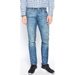 Levi's - Jeansy 511 Slim Fit. Brązowe jeansy męskie regular Levi's®, z aplikacjami, z bawełny. W wyprzedaży za 299,90 zł.