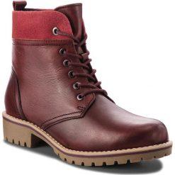 Trapery MARCO TOZZI - 2-26284-31 Bordeaux A.C. 542. Czerwone buty zimowe damskie Marco Tozzi, z materiału. Za 249,90 zł.