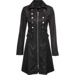 Płaszcze damskie: Płaszcz bonprix czarny