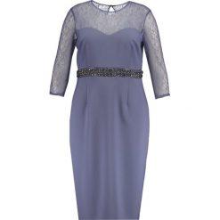 Sukienki hiszpanki: Little Mistress Curvy Sukienka koktajlowa lavender grey