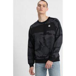 GStar RODIS CAMO RAGLAN R SWEAT L/S Bluza dark black. Czarne bejsbolówki męskie G-Star, l, z bawełny. Za 369,00 zł.