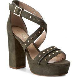 Rzymianki damskie: Sandały BRUNO PREMI – Camoscio K2602P Verde