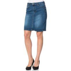 Spódniczki skórzane: Dżinsowa spódnica w kolorze niebieskim