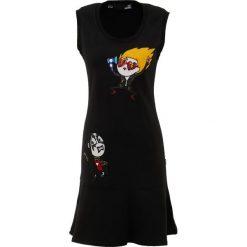 Love Moschino Sukienka letnia black. Czarne sukienki letnie marki Love Moschino, z bawełny. Za 909,00 zł.