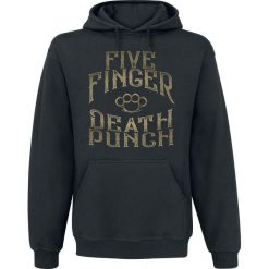Five Finger Death Punch 100 Proof Bluza z kapturem czarny. Czarne bejsbolówki męskie Five Finger Death Punch, xxl, z kapturem. Za 184,90 zł.
