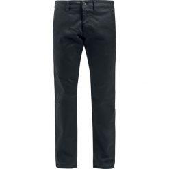 Spodnie męskie: Reell Straight Flex Chino Fit Jeansy czarny