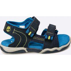 Timberland - Sandały dziecięce. Szare sandały chłopięce marki Timberland, z gumy. W wyprzedaży za 219,90 zł.