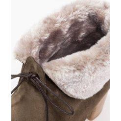 Buty zimowe damskie: Scapa Botki sznurowane brown