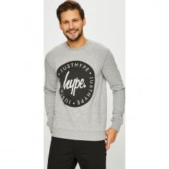 Hype - Bluza. Szare bluzy męskie Hype, l, z nadrukiem, z bawełny, bez kaptura. Za 169,90 zł.