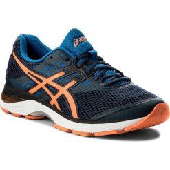 Buty ASICS - Gel-Pulse 9 T7D3N Dark Blue/Shocking Orange/Victoria Blue 4930. Szare buty do biegania męskie marki Asics, z poliesteru. W wyprzedaży za 279,00 zł.
