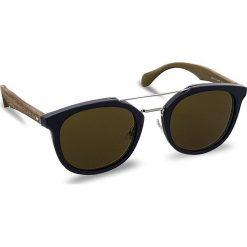 Okulary przeciwsłoneczne męskie: Okulary przeciwsłoneczne BOSS – 0777/S Blue/Brown