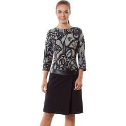 Sukienki hiszpanki: Sukienka w kolorze czarno-szarym