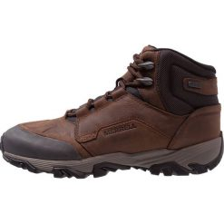 Merrell COLDPACK ICE MID WATERPROOF Buty trekkingowe clay. Brązowe buty trekkingowe męskie Merrell, z gumy, outdoorowe. Za 759,00 zł.