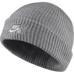 Czapka Nike SB Fisherman Beanie (628684-064). Szare czapki zimowe męskie marki Nike, na zimę, z materiału. Za 59,99 zł.