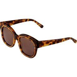 Stella McCartney Okulary przeciwsłoneczne avana bronze. Brązowe okulary przeciwsłoneczne damskie aviatory Stella McCartney. W wyprzedaży za 714,45 zł.