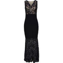 Sukienki balowe: Sukienka wieczorowa z koronką bonprix czarny