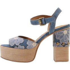 Rzymianki damskie: See by Chloé Sandały na obcasie jeans