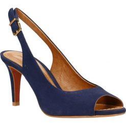 Sandały YASTI. Białe sandały damskie marki Coqui, na wysokim obcasie. Za 279,90 zł.