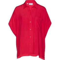 Bluzki damskie: Bluzka z wiskozy bonprix czerwony