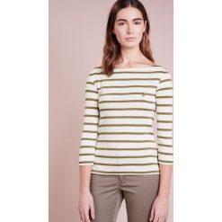 Bluzki damskie: Polo Ralph Lauren STRIPED MERC Bluzka z długim rękawem nevis/basic olive