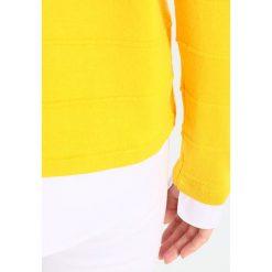 Swetry klasyczne damskie: Kaffe NIKA  Sweter solar yellow