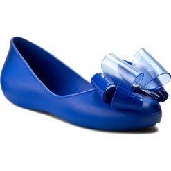 Baleriny ZAXY - Link Ballerina Fem 82038 Blue 90061. Niebieskie baleriny damskie Zaxy, z materiału. W wyprzedaży za 149,00 zł.