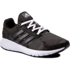 Buty adidas - Duramo 8 W BA8086 Utiblk/Cblack. Czarne buty do biegania damskie Adidas, z materiału. W wyprzedaży za 209,00 zł.
