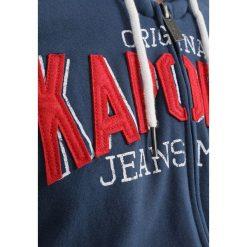 Bejsbolówki męskie: Kaporal ZIPPED  Bluza rozpinana blue us