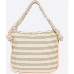 Zaxy - Torebka. Szare torebki klasyczne damskie Zaxy, z materiału, duże. W wyprzedaży za 79,90 zł.