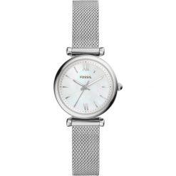 Zegarek FOSSIL - Carlie ES4432 Silver/Silver. Różowe zegarki damskie marki Fossil, szklane. Za 499,00 zł.