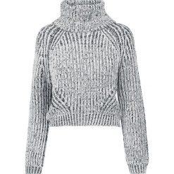 Urban Classics Ladies Short Turtleneck Sweater Sweter z dzianiny czarny/biały. Białe golfy damskie Urban Classics, m, z dzianiny, z krótkim rękawem. Za 121,90 zł.