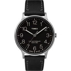 Zegarek Timex Męski TW2R25500 Waterbury Collection czarny. Czarne zegarki męskie Timex. Za 348,99 zł.