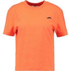 Odzież damska: Vans Tshirt z nadrukiem orange