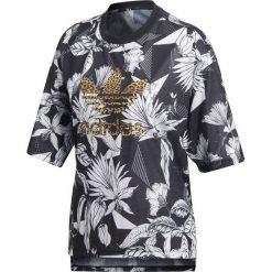 Bluzki asymetryczne: Adidas Koszulka damska Farm Tee czarna r. 36 (CY7375)