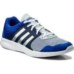 Buty adidas - Essential Fun II W CP8950 Hirblu/Silvmt/Nobind. Czarne buty do fitnessu damskie marki Adidas, z kauczuku. W wyprzedaży za 159,00 zł.