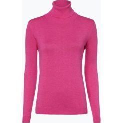 Brookshire - Sweter damski, różowy. Czarne golfy damskie marki brookshire, m, w paski, z dżerseju. Za 179,95 zł.