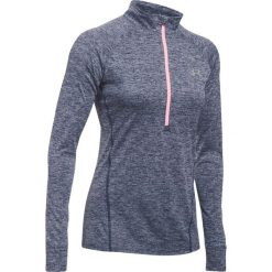 Bluzy sportowe damskie: Under Armour Bluza damska Tech 1/2 Zip  – Twist szara r. XS (1270525-410)