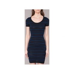 Sukienki krótkie Morgan  ROTINA. Sukienki małe czarne marki Morgan, l, z krótkim rękawem. Za 248,50 zł.