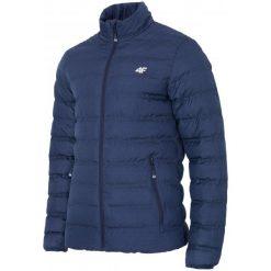 4F Kurtka Męska H4Z17 kum002 Granatowy Melanż L. Niebieskie kurtki sportowe męskie marki 4f, na zimę, l, melanż, z puchu. W wyprzedaży za 189,00 zł.