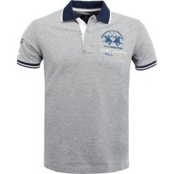 Koszulki polo: La Martina SLIM FIT  Koszulka polo medium heather grey