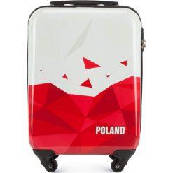 Walizka kabinowa 56-3A-241-TR. Białe walizki marki Wittchen, z gumy, małe. Za 179,00 zł.