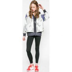 Adidas by Stella McCartney - Kurtka. Szare bomberki damskie adidas by Stella McCartney, l, z materiału, z kapturem. W wyprzedaży za 599,90 zł.