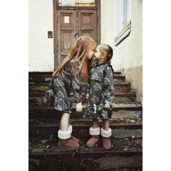 Sukienka dziewczęca Greenery Dress. Szare sukienki dziewczęce wizytowe Pakamera, na zimę. Za 139,00 zł.