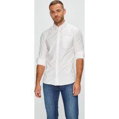 Casual Friday - Koszula. Szare koszule męskie na spinki marki S.Oliver, l, z bawełny, z włoskim kołnierzykiem, z długim rękawem. W wyprzedaży za 139,90 zł.