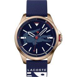 Lacoste - Zegarek CAPBRETON.2010964. Niebieskie zegarki męskie Lacoste, szklane. Za 799,90 zł.